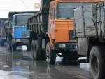 Case afectate de maşinile de mare tonaj