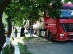 Transpot umanitar de la locuitorii comunei Liesti