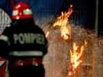 Pompieri in actiune la Barcea