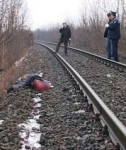 Sfarsit tragic petrecut pe linia ferata din Cosmesti