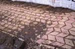 trotuar deteriorat Ghe Petrascu