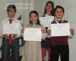 Elevi ai Clubului elevilor din Tecuci premiati