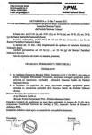 Hotarare excludere Vasile Diaconu PNL Tecuci