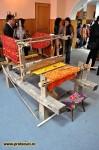 Razboi de tesut la expozitia de etnografie la Tecuci 2011