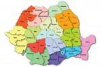 Împărţirea României pe regiuni până în 2012