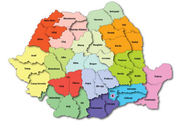 Impărţirea Romaniei Pe Regiuni Pană In 2012 Tecuci