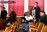 Sinistrati protest la primaria Tecuci