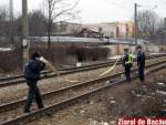 Suicid pe calea ferata