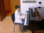 Adrian Top, loc IV internaţional la pian