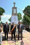 Oficialitati la Monumentul din Movileni