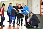 Turneu de rugby la sala polivalenta din Tecuci mart-2012