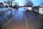 Valea comunei Matca inundata in seara zilei de de ieri