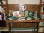 Comemorarea poetului naţional prin expoziţii de carte