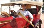 Alexandru Dan Dumitru in automobilul  EGO_tecuci.eu