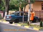 Parcare pe trotuar_tecuci.eu