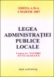 Legea administratiei locale