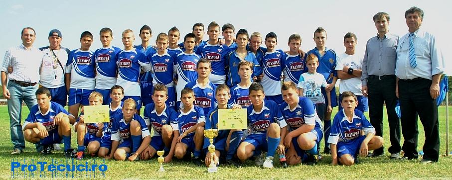 Echipa Rugby juniori Tecuci