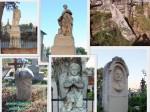 Tecuci-Cimitirul Eternitatea-monumente funerare distruse
