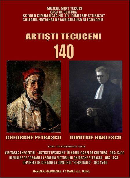 Afisul Expozitiei aniversare_tecuci.eu
