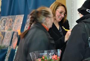 Iulieta Groza - expozitia de icoane pe sticla 2012