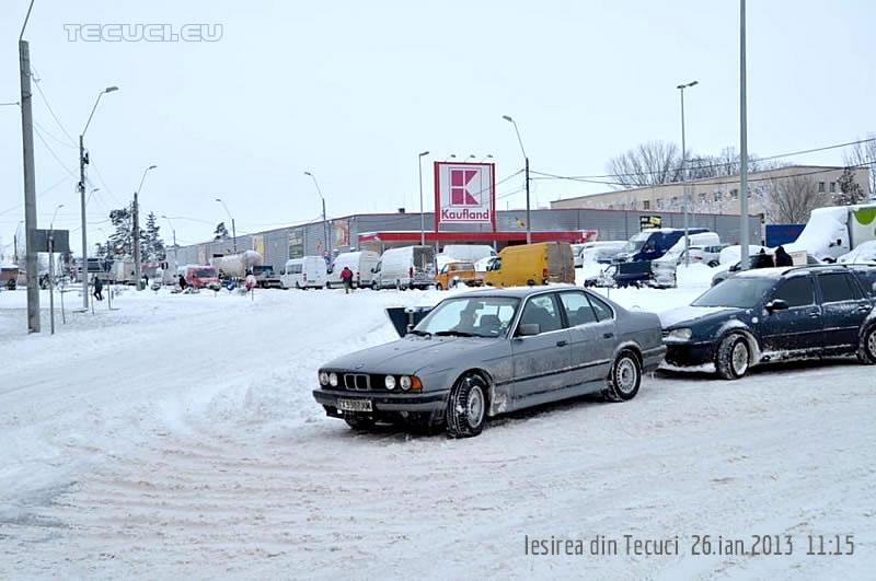 Iesirea din Tecuci iarna 2013