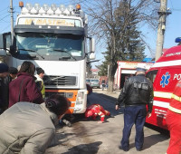 Accident Tecuci batrana