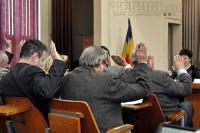 Vot in Consiliul local Tecuci