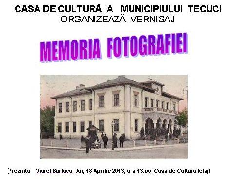 Vernisaj fotografie Tecuci