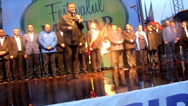 Iohannis, preşedinte. Al muştarului de Tecuci