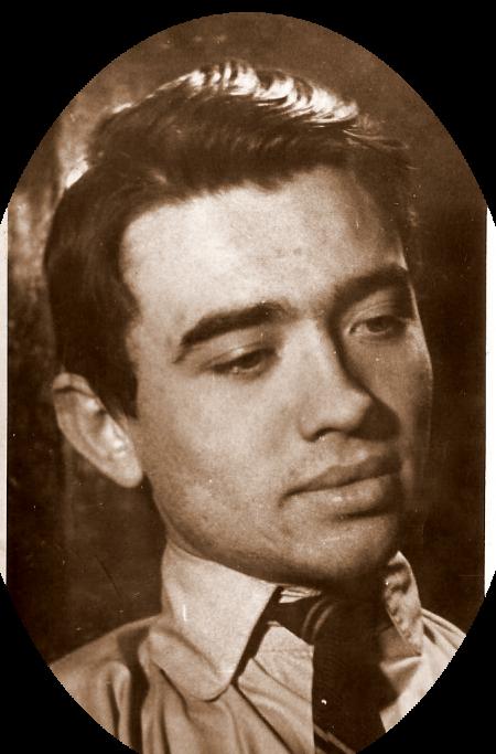 Emil Coşeru in anul I de Facultate