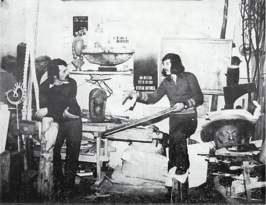 Dan Mateescu și Ștefan Buțurcă (1982)