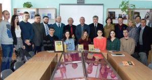 Lansarea volumului Scrisoare despre Tecuciu Cahul 2018 fotografie de grup