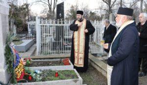 Simpozionul omagial Alexei Mateevicide la Muzeul Naţional de Literatură Chişinău Preoti slujesc