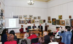Poetul basarabean Ioan Găină la Tecuci - manifestare