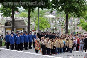 Ziua Eroilor Depunere de coroane la monumentul eroilor Tecuci 2018_850x567