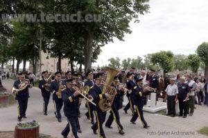 Ziua Eroilor Fanfara Pohar cimitirul Eternitatea Tecuci 2018_850x567