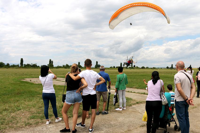 Mitingul aerian centenar 1 iulie 2018 Tecuci 6
