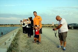 O amintire de pe barajul hidrocentralei de la Movileni