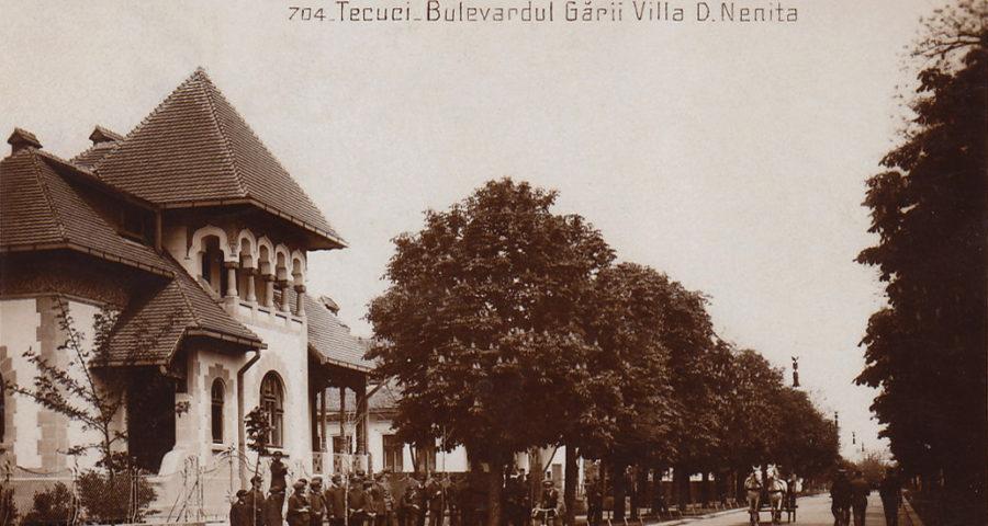 Tecuciul vechi - Bulevardul Garii si vilaD Nenita