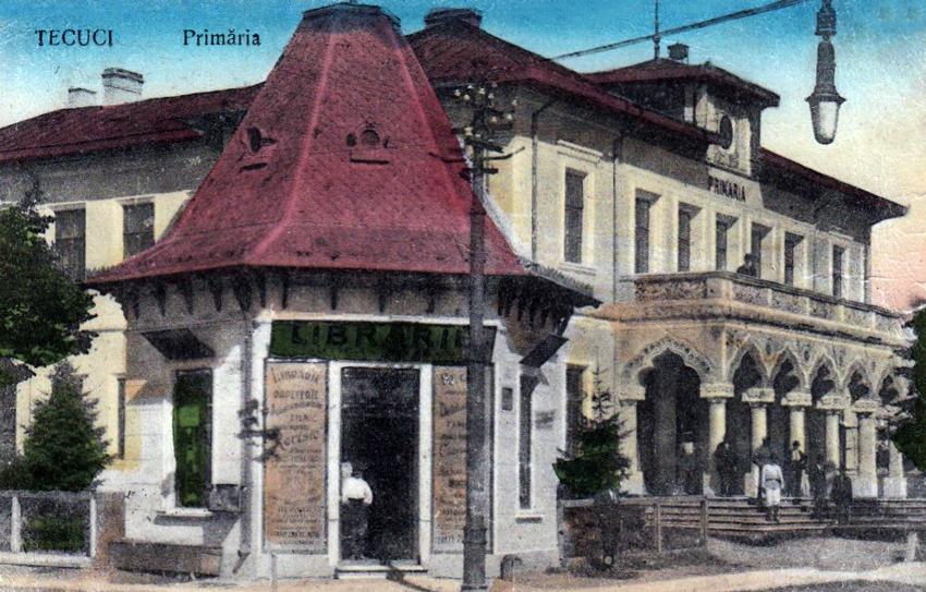 Tecuiul Vechi - Cladirea Primariei Tecuci