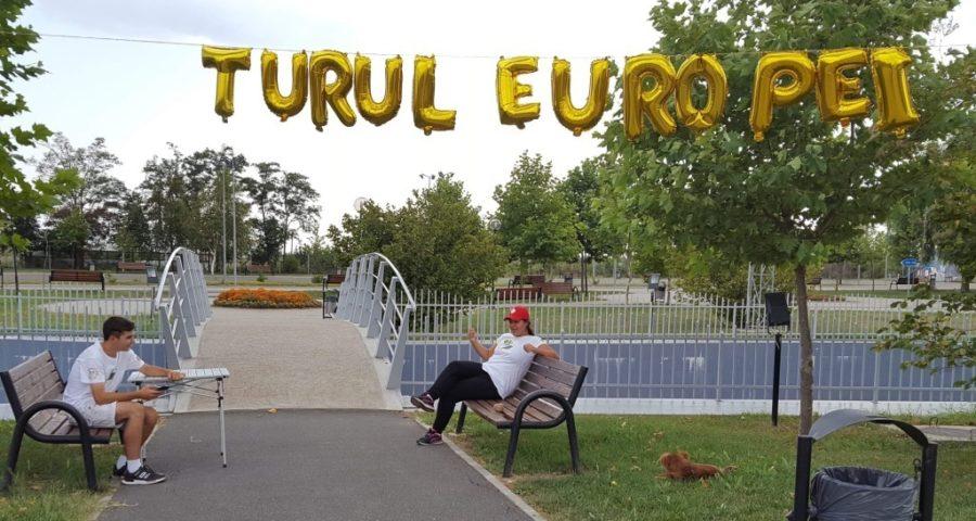 "Turul Europei cu echipa Euroscola de la Colegiul Național ""Spiru Haret"" Tecuci 1"