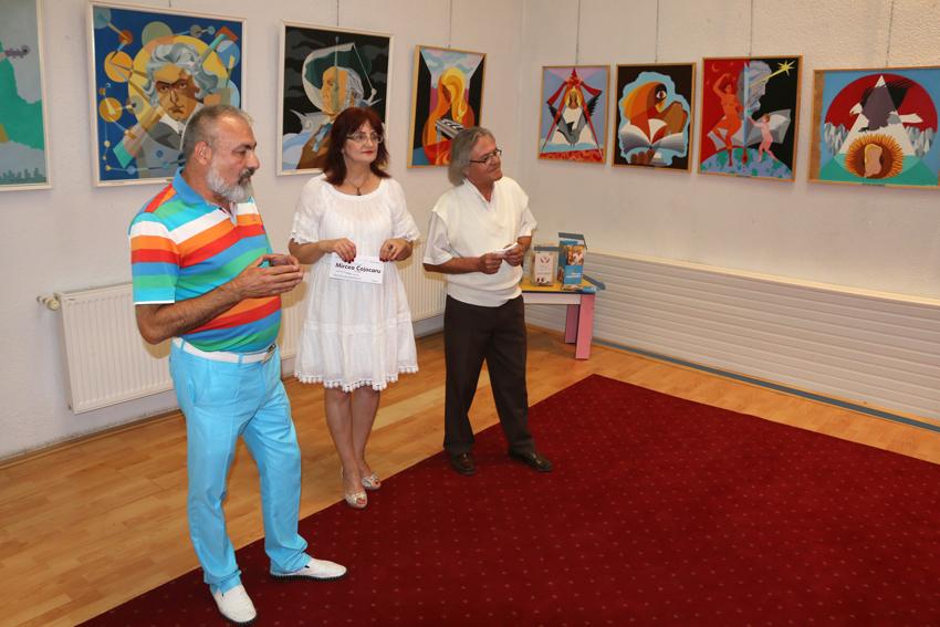 Expoziția de pictură Mircea Cojocaru David Sava
