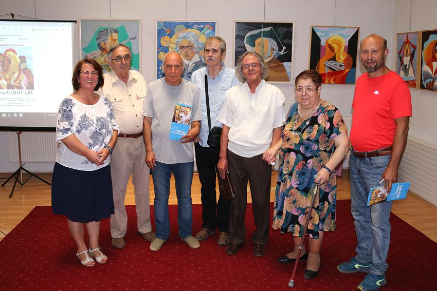 Expoziția de pictură Mircea Cojocaru Eleonora Stamate