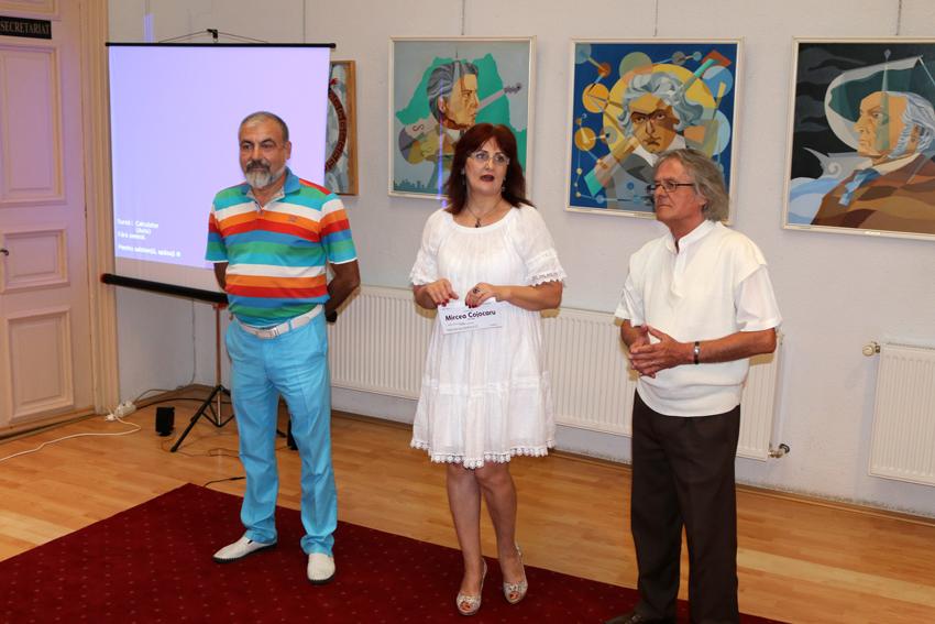 Expoziția de pictură Mircea Cojocaru Galeria Helios