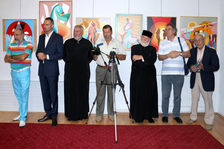 Expoziția de pictură Mircea Cojocaru Lucian costin