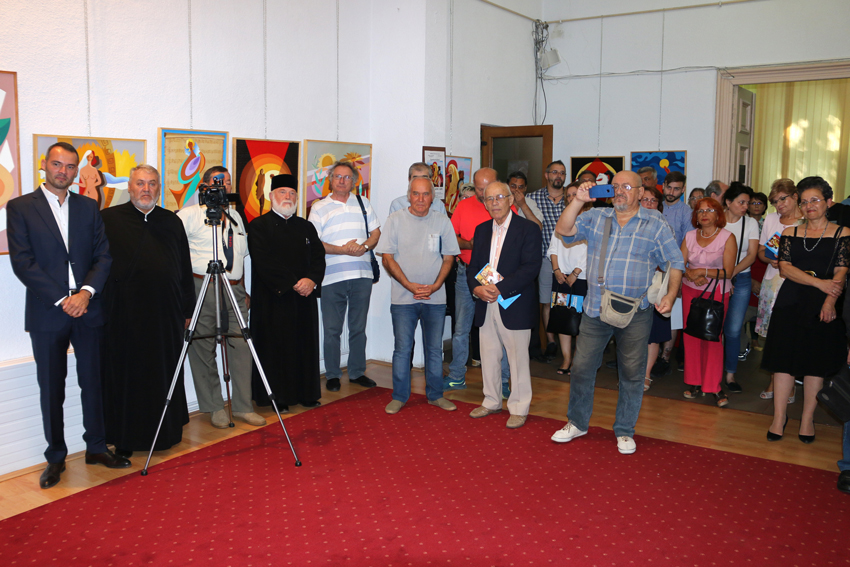 Expoziția de pictură Mircea Cojocaru participanti